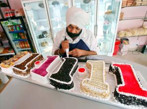 Bryllupforberedelser i Indien