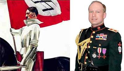 Adolf Hitler & Anders Breivik